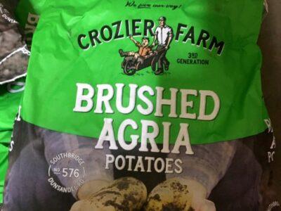Crozier Farms 5kg Agria Bag