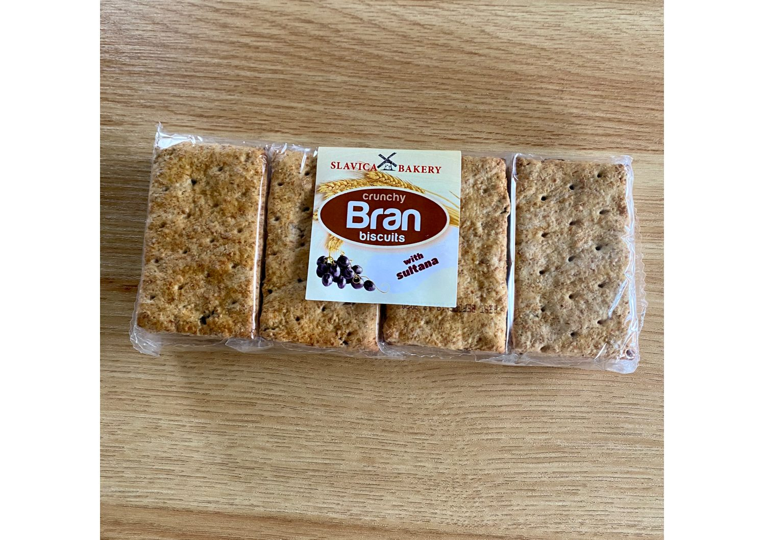 Slavica Bakery Bran Biscuits with Sultana 230g