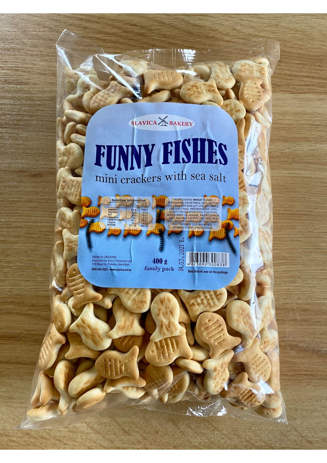 Slavica Bakery Funny Fishes 400g