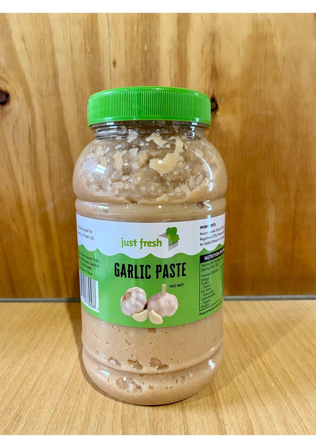 Just Fresh Garlic Paste 1kg