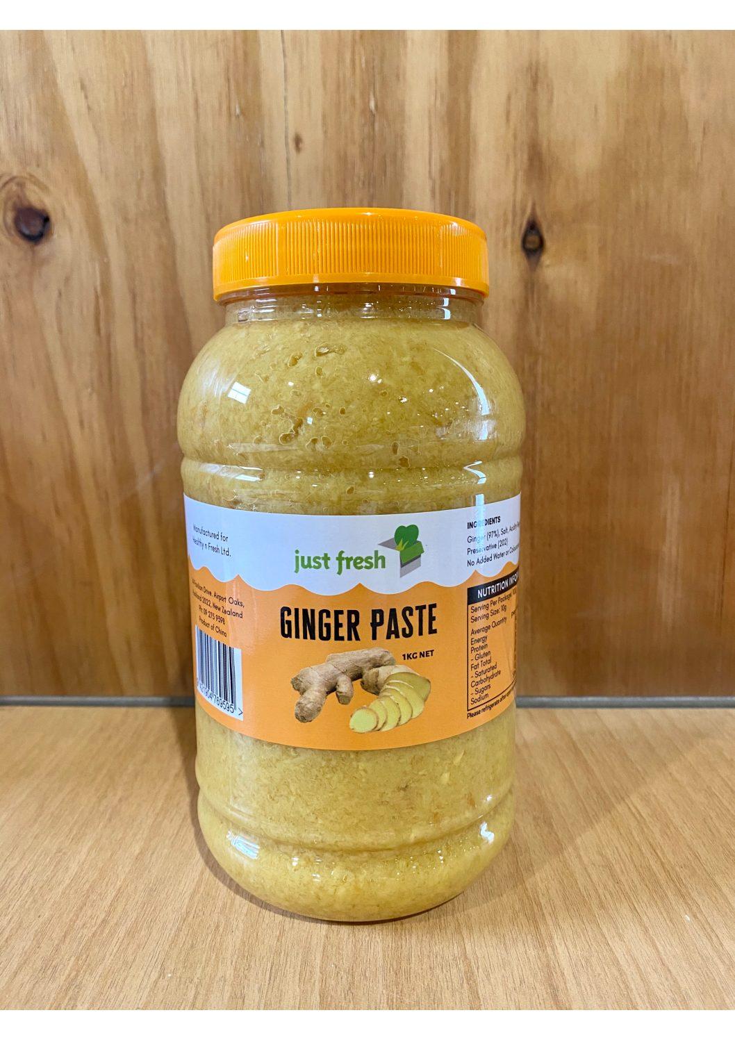 Just Fresh Ginger Paste 1kg
