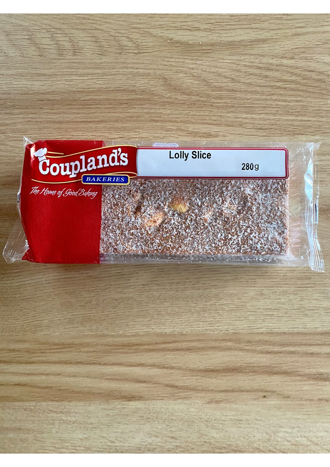 Couplands Lolly Cake Slice 280g
