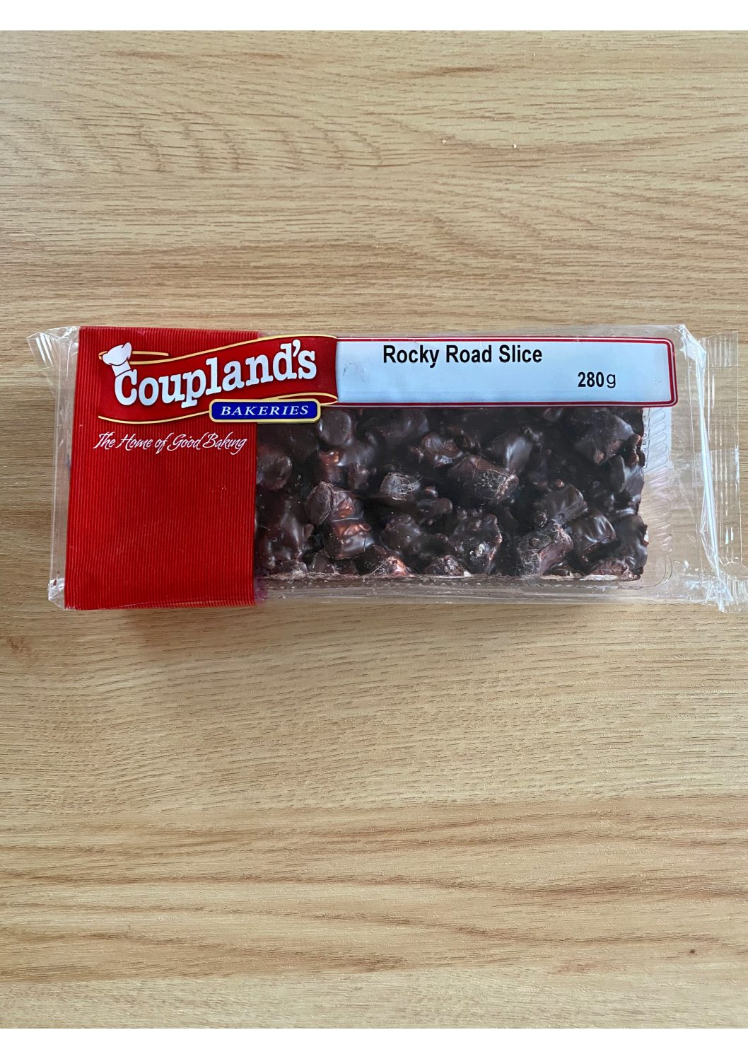 Couplands Rocky Road Slice 280g