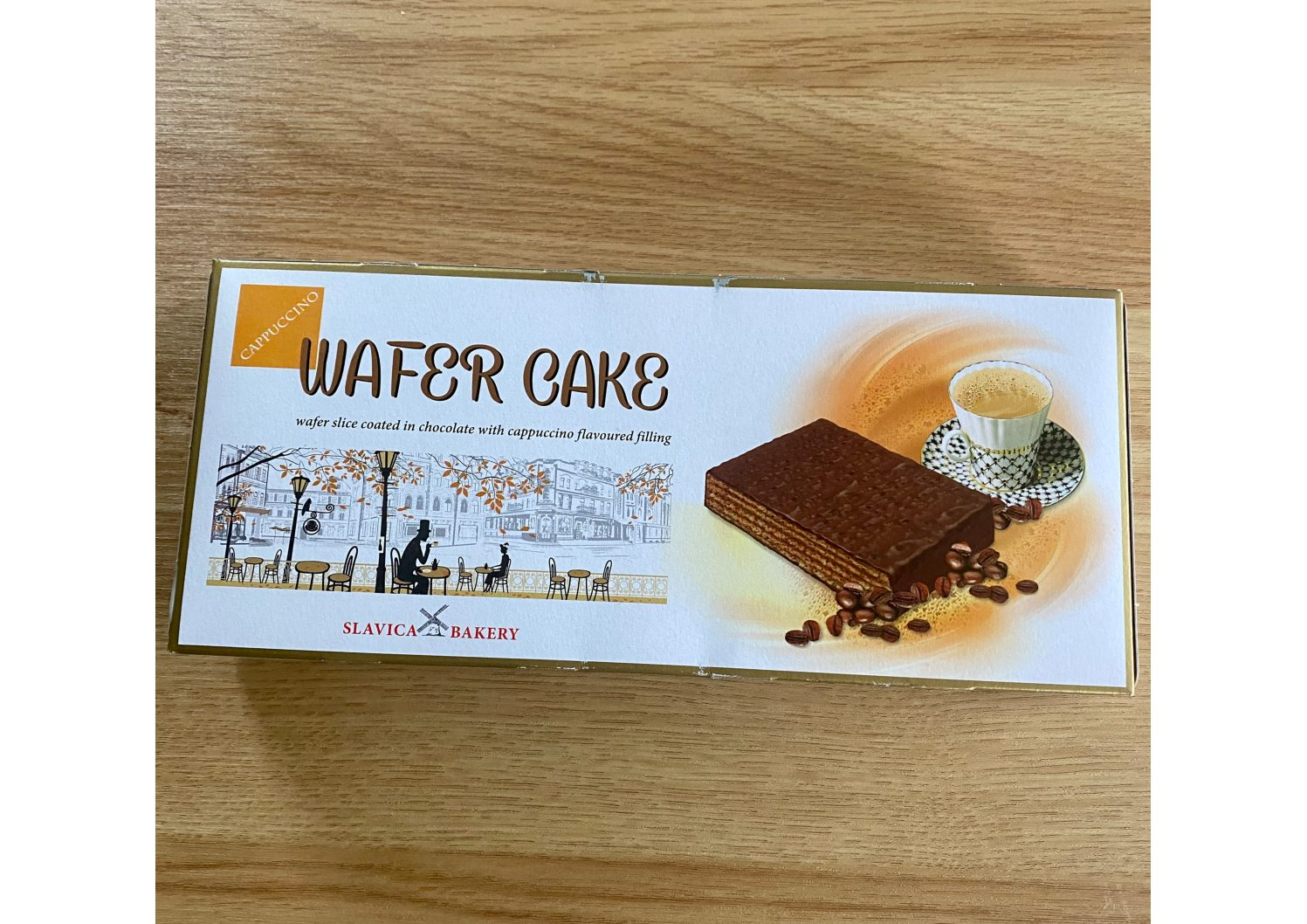 Slavica Bakery Wafer Cake Cappuccino 260g